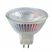 RealLED Halogen LED-Spot MR16 50 x 48 mm 3 Watt, 38° 12 Volt warmweiß