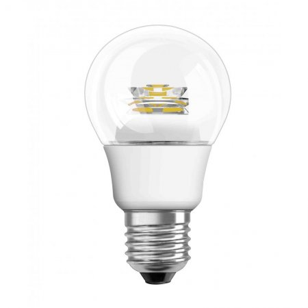 Osram LED E27 6 Watt Warmwei� dimmbar Klarglas