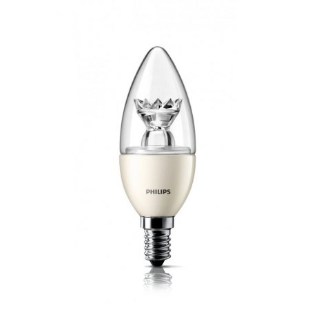 Philips LED E14 6 Watt Warmweiß dimmbar Kerzenform