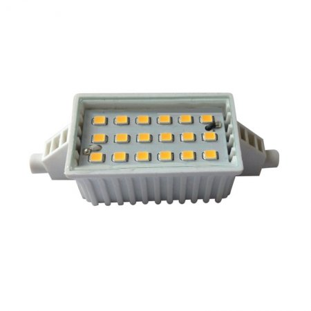 RealLED LED Stablampe R7s 78mm 6 Watt 220 - 240 Volt 110° warmweiß