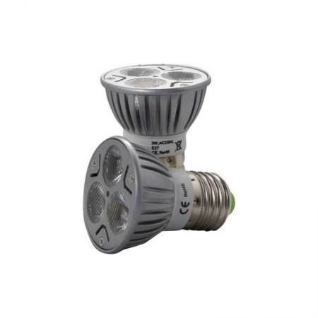 LED Spot E27 50 mm 3 Watt 120� warmwei� 2800 - 3100 K **Sonderposten**