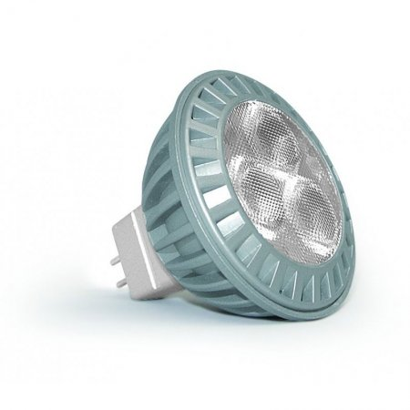 LED Spot MR16 50 mm 3,7 Watt, 12 Volt extrawarmweiß (2700 K)