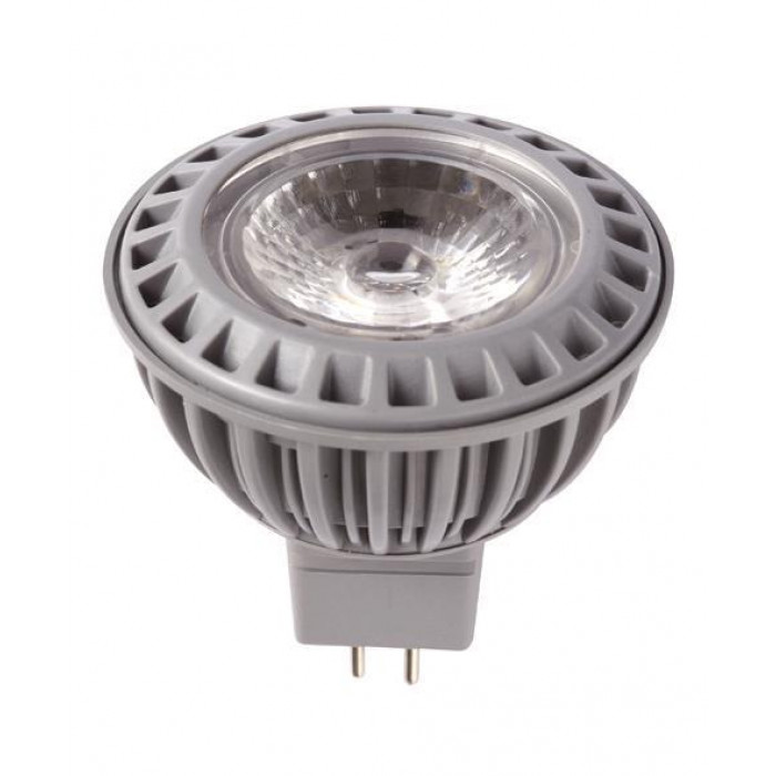 RealLED Halogen LED-Spot MR16 50 x 46 mm 5 Watt, 38° 12 V Ra>80  warmweiß