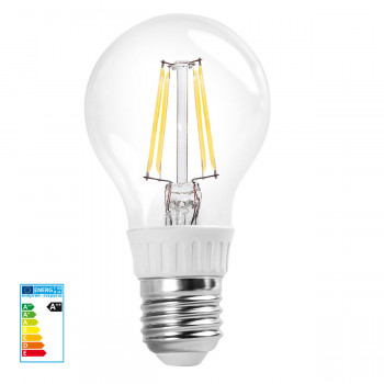 RealLED 60mm Halogen-LED Glühwendelbirne E27 warmweiß 7...