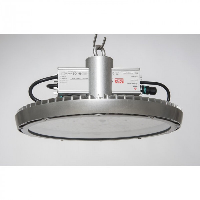 DOTLUX LED-Hallenstrahler LIGHTSHOWERsatin180W 5000K gefrostet Made in Germany