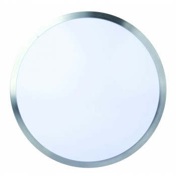 DOTLUX LED-Leuchte LUNAsilver Ø330mm 18W COLORselect IP44